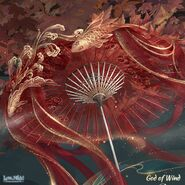 God of Wind close up 1