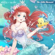 The Little Mermaid close up 1