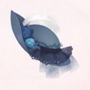 Blue Rose Hat