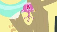 Minka screams What!