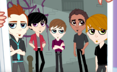 Left to right: Dustin, Hayden, Jason #2, Jason #1, and Ted