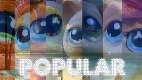 Littlest Pet Shop Popular (Season 2 Opening Sequence) WATCH IN 3D!