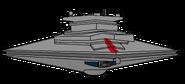 A Golden Axe Star Destroyer