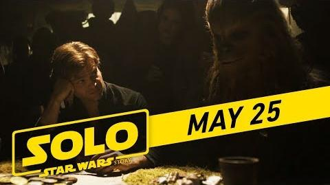 """Solo A Star Wars Story """"Crew"""" TV Spot ( 45)"""