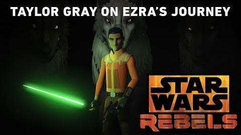 Taylor Gray On Ezra's Journey Star Wars Rebels