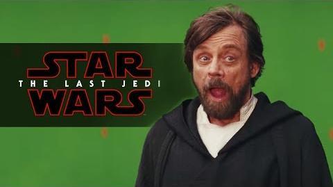 Star Wars The Last Jedi Blooper Reel