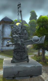 Tirion Fordring statue.jpg