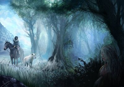 Jon Snow and Ghost.jpg