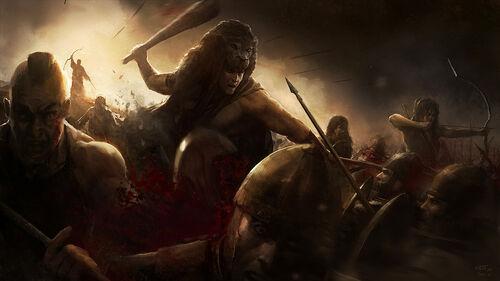 Hercules in Battle by wraithdt.jpg