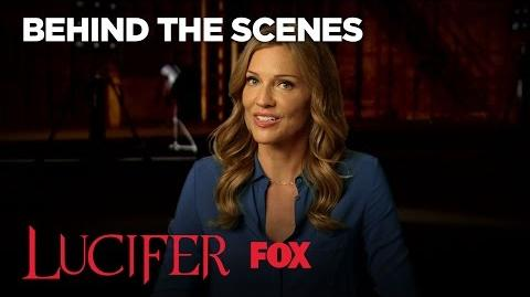 Meet Lucifer's Mom Played By Tricia Helfer Season 2 LUCIFER