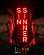 Lucifer Saison 5 B Poster