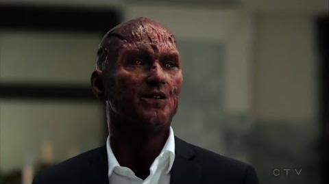Lucifer S03E24 HD Ending Scene Marcus Peirce Cain vs Lucifer, Chloe sees Lucifer`s devil face