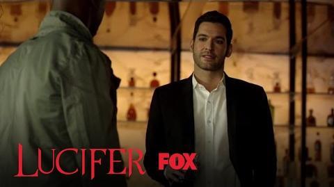 Lucifer Tells Amenadiel About God Johnson Season 2 Ep