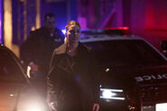 112 promo Chloe with police cars