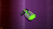 S1E15 Blaster dropped