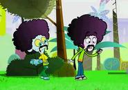 S1 E34 mustache and wigs