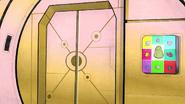 S1 E28 Potatoids' ship's entrance door