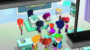 S1 E28 students gather