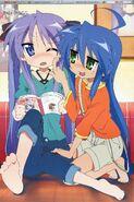 Konata and kagami