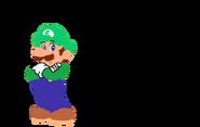 Luigi (Mario Style Regular)