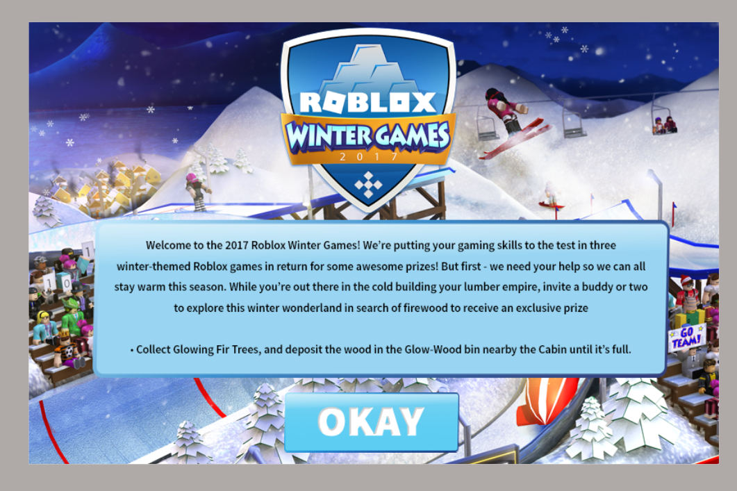 "Roblox's ""Winter Games 2017"" Event"