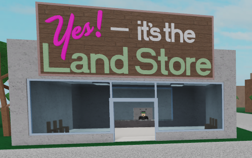 Yes! – it's the Land Store