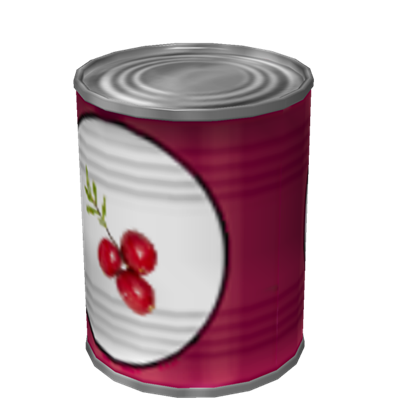 Can of Cranberry Sauce