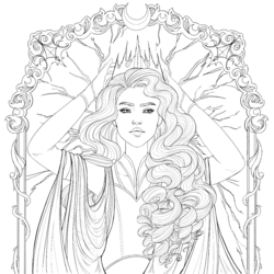 Coloring book character profile Levana.png