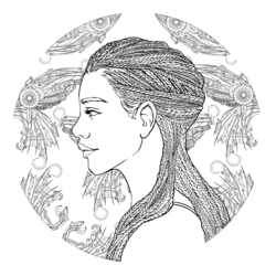 Coloring book character profile Iko.png