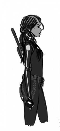 Iko character sketch by Douglas Wolgate.png