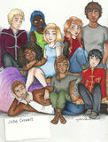 Main characters from The Lunar Chronicles by Julie Crowell