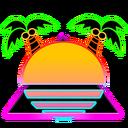 Club neon logo