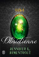 Obsidian cover, French