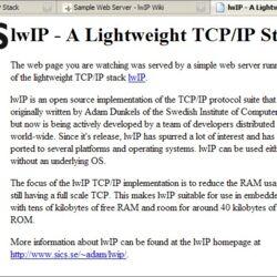 Sample Web Server