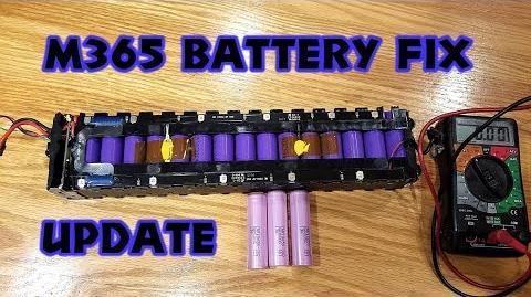 Xiaomi M365 range problem - diag and repair UPDATE