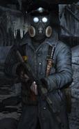 Офицер в Рейха в Metro 2033