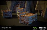 Ящики с грибами 3
