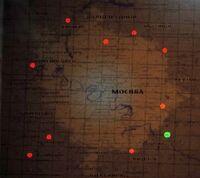 Карта Д-6 о Москве П.о.с.