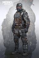 Spartan Winter Suit Concept Art