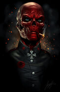 Red skull by liquid venom-d7jjqah