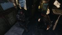 Анна разговаривает с раненым Алёшей