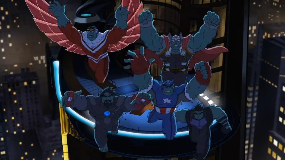 Avengers: Zjednoczeni Sezon 1 11