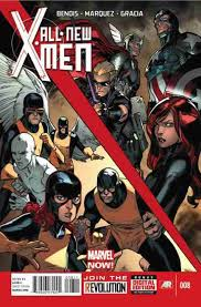 All-New X-Men Zeszyt 8
