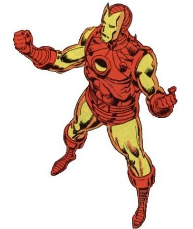 Zbroje Iron Mana