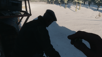 Мельник разговаривает с Артёмом