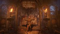 Силантий проповедует в церкви