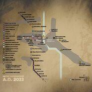 Warszawa 2033 map