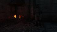 Сжигает рассадник крыс