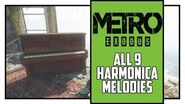 Metro Exodus Sam's Story All Harmonica Melodies Locations Music Lover Trophy