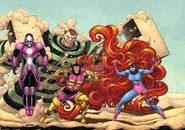 The frightful four by bennyfuentes-d5kx4xp